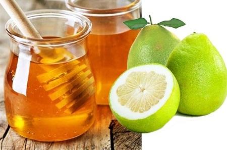 Mật ong và bưởi giúp thanh nhiệt cơ thể, giải độc và giãm mỡ hiệu quả