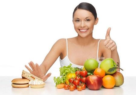 Để đạt được hiệu quả giảm cân trước hết bạn cần một thực đơn nghiêm túc trong suốt quá trình giảm