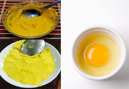Với công thức đắp mặt nạ bột nghệ với trứng gà bạn hoàn toàn có thể tạo ra cho bản thân một loại mặt nạ ít tốn kém