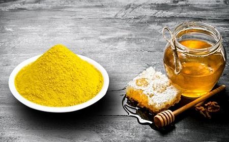 Tác dụng tuyệt vời của hỗn hơp tinh bột nghệ và mật ong là